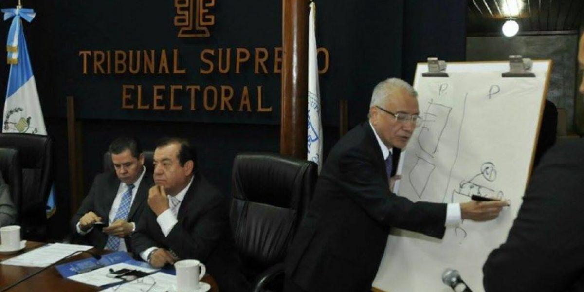 Tribunal Supremo Electoral asegura que hay garantía en la transmisión de los datos