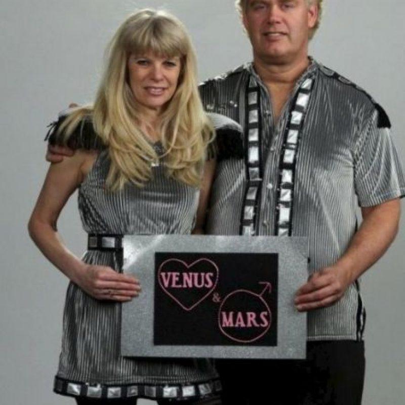 Venus y Marte… Foto:Imgur