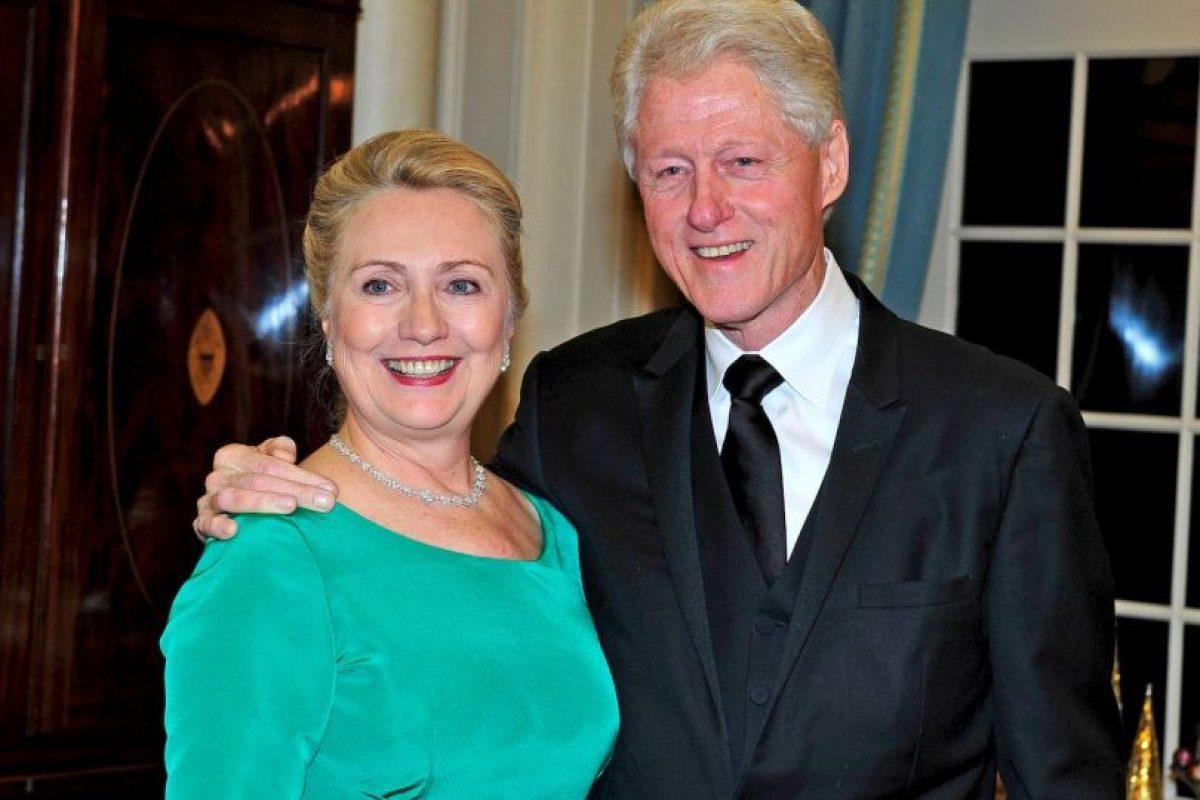 Bill Clinton, presidente de Estados Unidos de 1993 a 2001 Foto:Getty Images