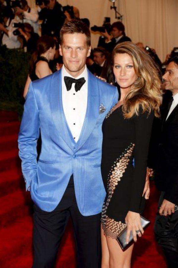 Gisele Bundchen y Tom Brady Foto:Getty Images