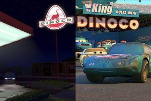 """La gasolinera de """"Toy Story"""" y el patrocinador de la """"Copa Piston"""" tienen el mismo nombre. Foto:Pixar"""