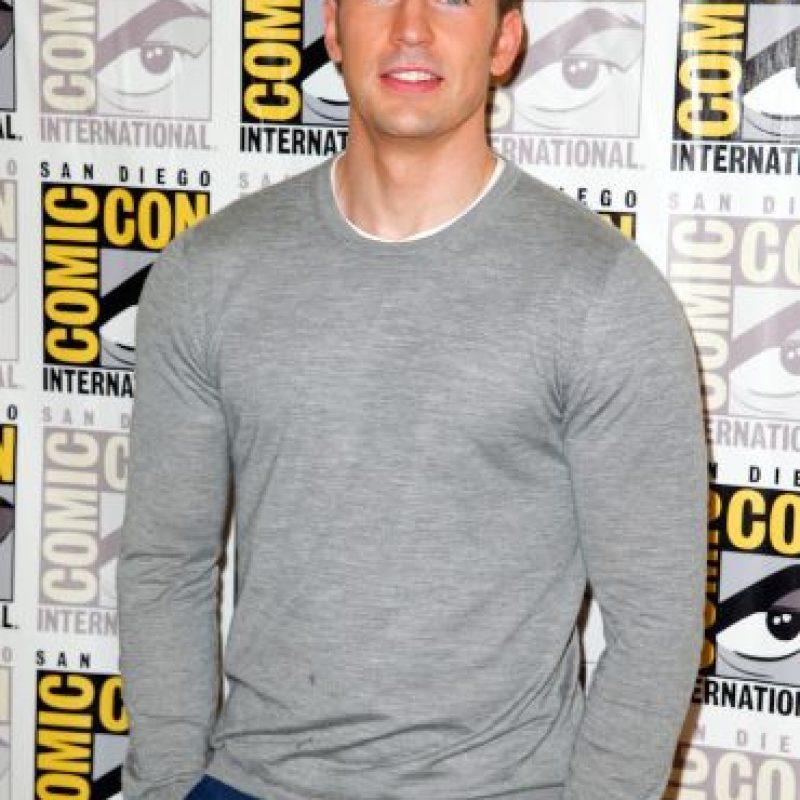 """El protagonista de """"Capitán América"""" demostró que también canta. Foto:Getty Images"""