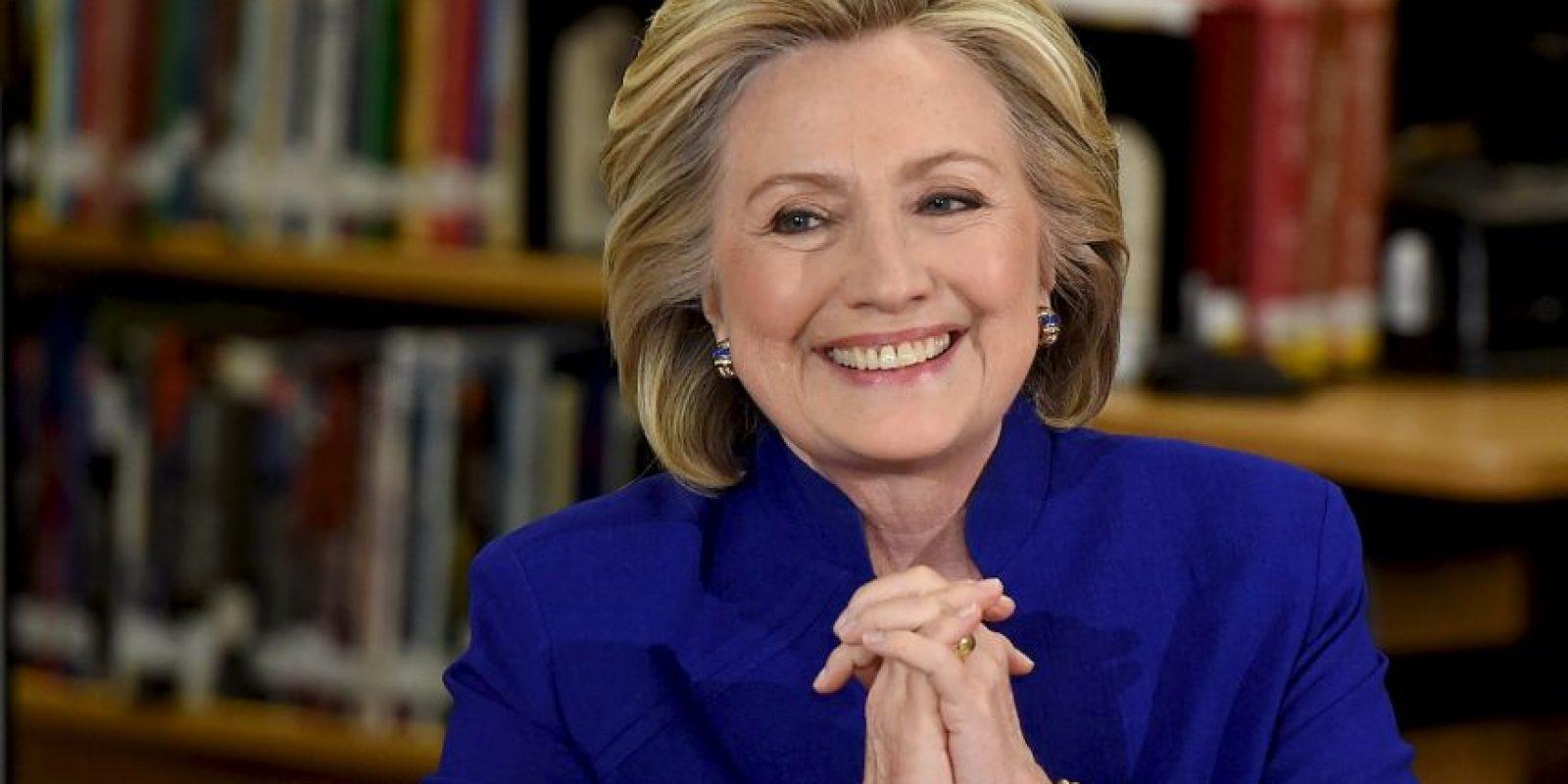 Victoria Beckham quiere dar un cambio de imágen a la candidata estadounidense Hillary Clinton Foto:Getty Images