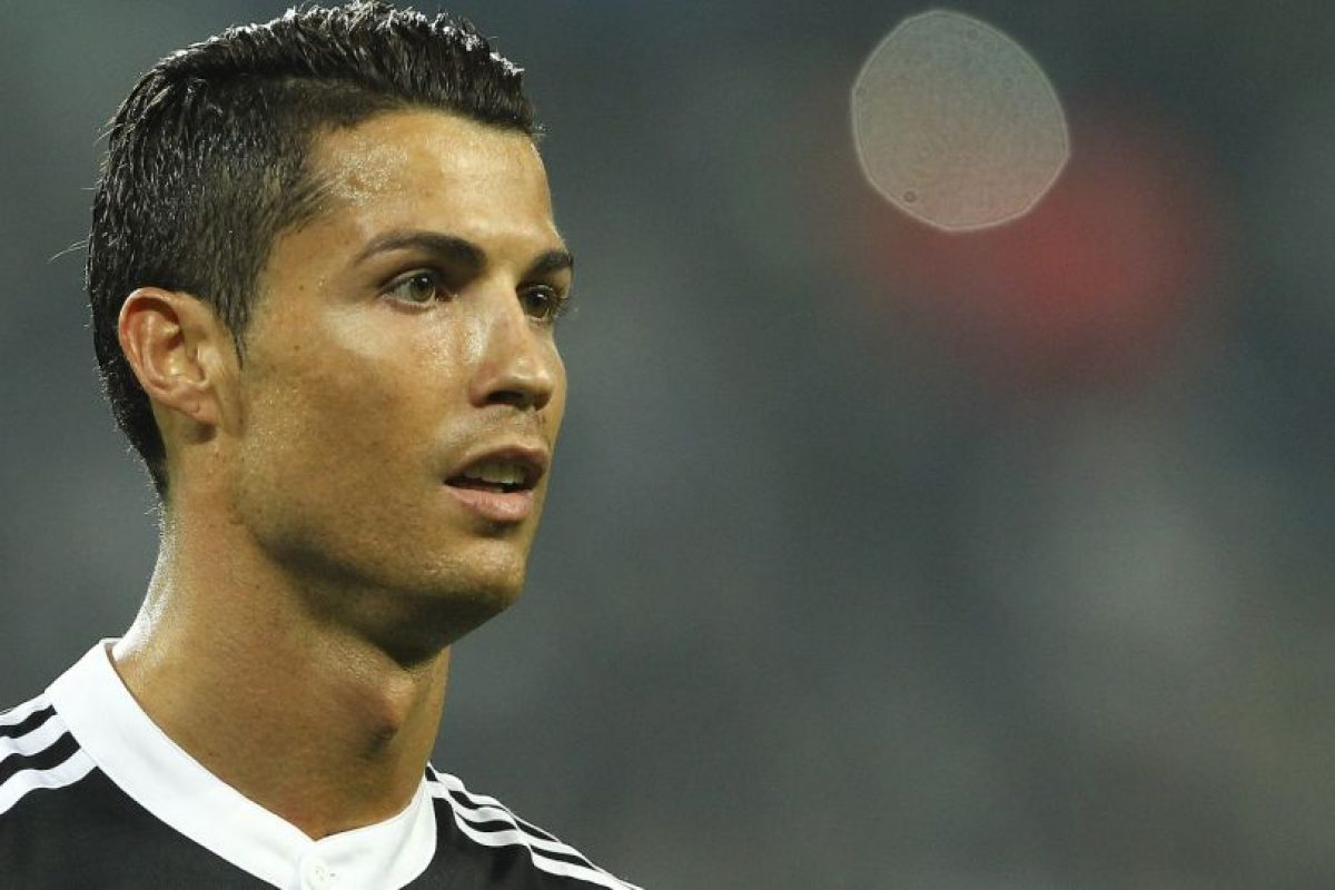 """""""CR7"""" llegó a Madrid en 2009 y tras seis años ya marcó 313 goles con la camiseta merengue. Foto:Getty Images"""