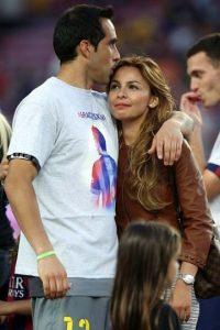 El arquero chileno ocupó la portería en partidos de Liga y Copa del Rey. Foto:Getty Images
