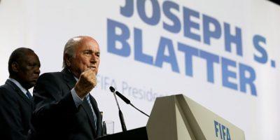 El suizo fue reelecto presidente de la FIFA este 29 de mayo. Foto:Getty Images
