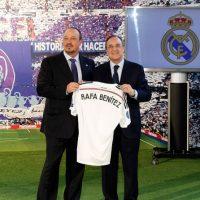 El entrenador español Rafael Benítez fue anunciado como el nuevo entrenador del Real Madrid en los primeros días del mes de junio. Foto:Getty Images