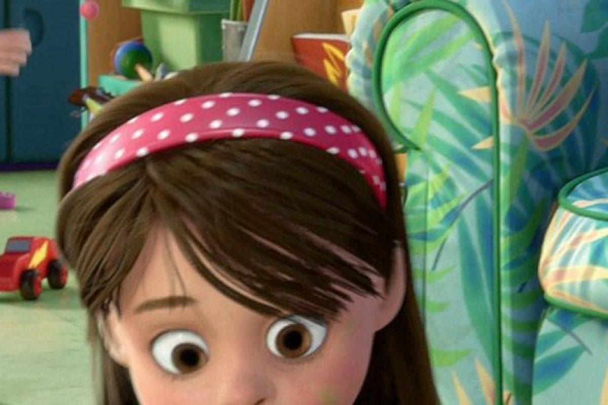 """Y un auto similar al """"Rayo McQueen"""" aparece en el jardín de niños """"Sunny Side"""" Foto:Pixar"""