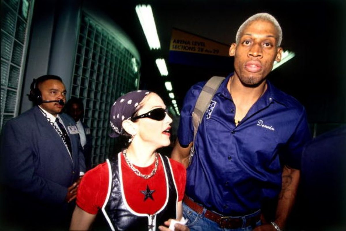 """El excéntrico exbasquetbolista no es el más """"guapo"""" de los deportistas, pero siempre fue un """"rompecorazones"""". Foto:Getty Images"""