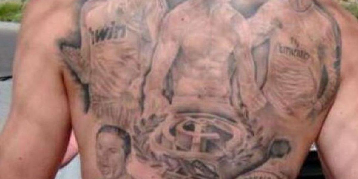 VIDEO. Aficionado gasta 900 euros en tatuajes de Cristiano Ronaldo