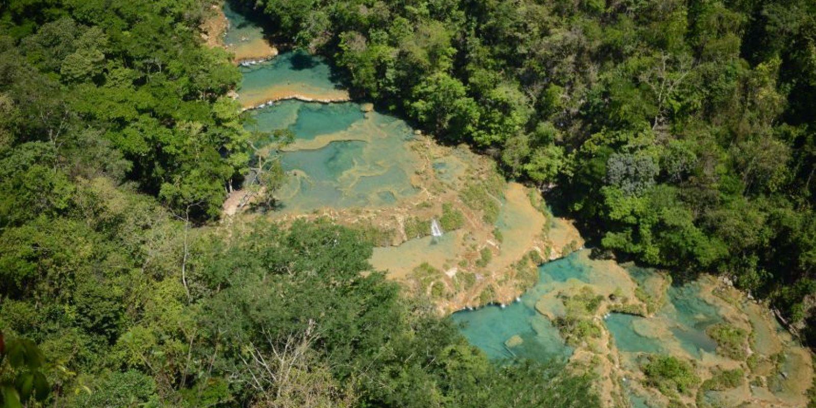 """Su nombre en quekchí significa """"donde el río se esconde entre la montaña"""" Foto:Oliver de Ros"""