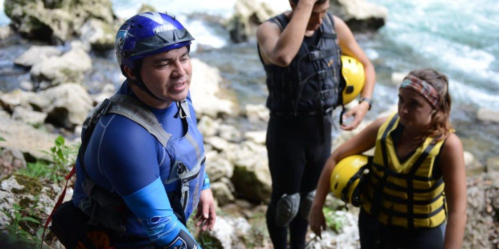 Gracias a Max, el río Cahabón será el escenario de la competencia mundial de este deporte en octubre Foto:Oliver de Ros