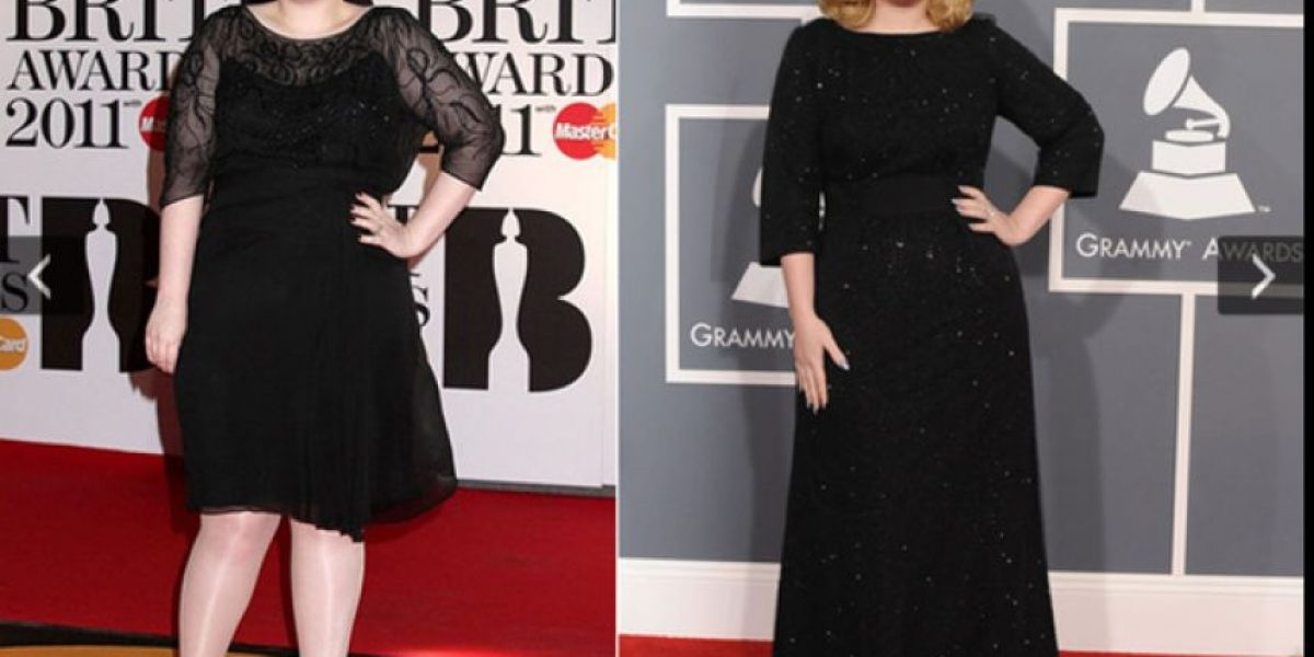 Celebridades con sobrepeso que han logrado una mejor figura