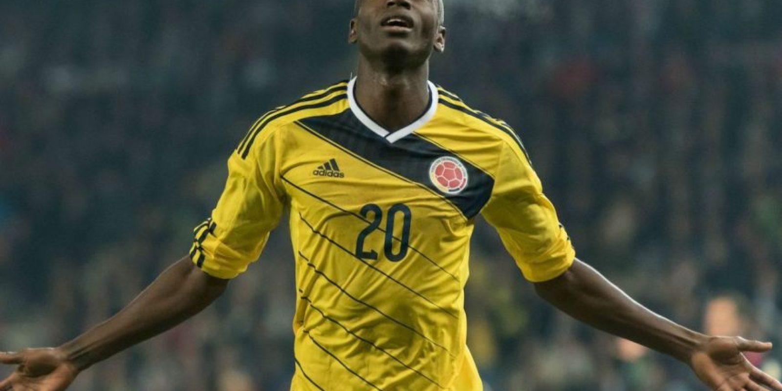 Adrián Ramos (Colombia). El delantero de Borussia Dortmund se lesionó el tobillo en un entrenamiento con el club alemán Foto:Getty Images