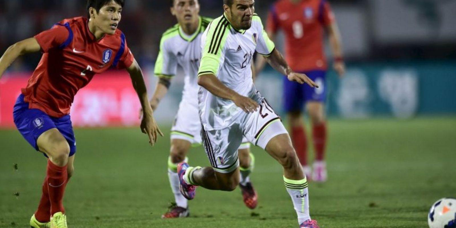 Alexander González (Venezuela). Sufre una distensión del ligamento colateral de la rodilla derecha Foto:Getty Images