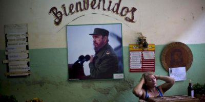 Así es como vive el pueblo cubano el legado de Fidel Foto:AP