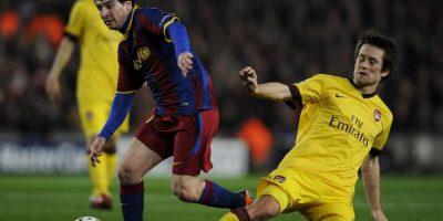 En la vuelta, Messi marcó el primer tanto de la victoria 3-1 de los blaugrana Foto:Getty Images
