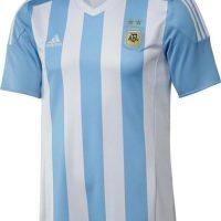 Esta será la camiseta de local del equipo albiceleste. Foto:Adidas