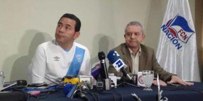 ¿A qué equipo de futbol apoya Jimmy Morales? él lo confesó hoy