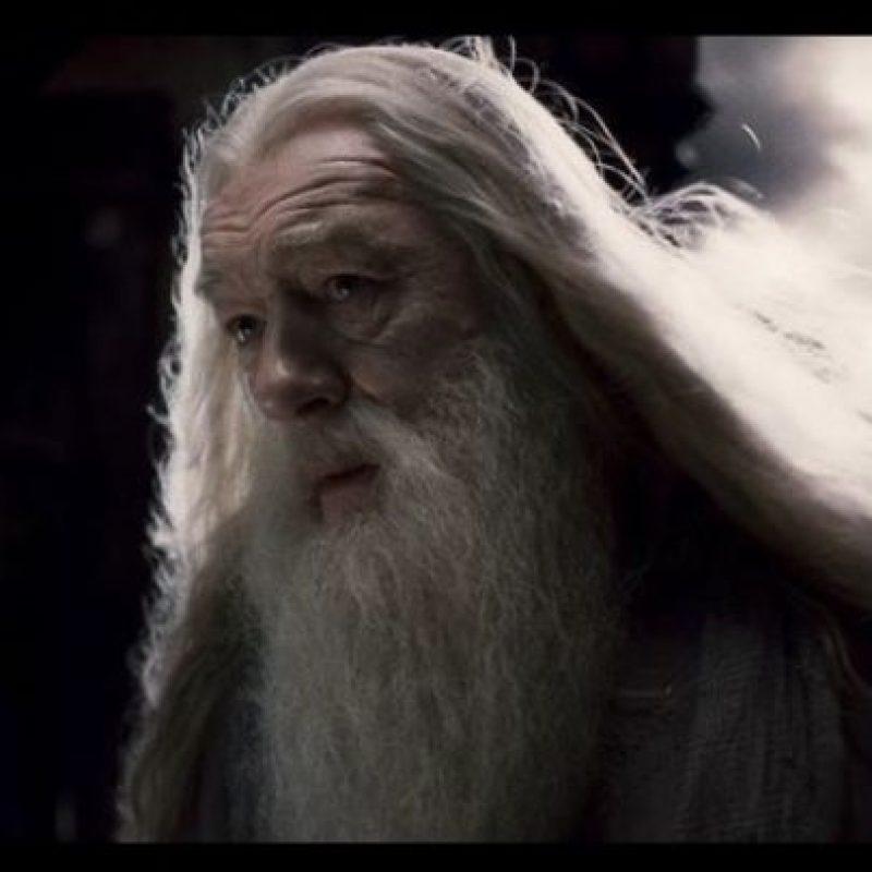 """""""Dumbledore"""", el director del colegio de magia y hechicería, """"Hogwarts"""", y uno de los magos más poderosos del universo de """"Harry Potter"""" es homosexual, incluso mantuvo un romance fugaz con su amigo """"Grindewald"""" Foto:Vía Facebook.com/harrypottermovie"""