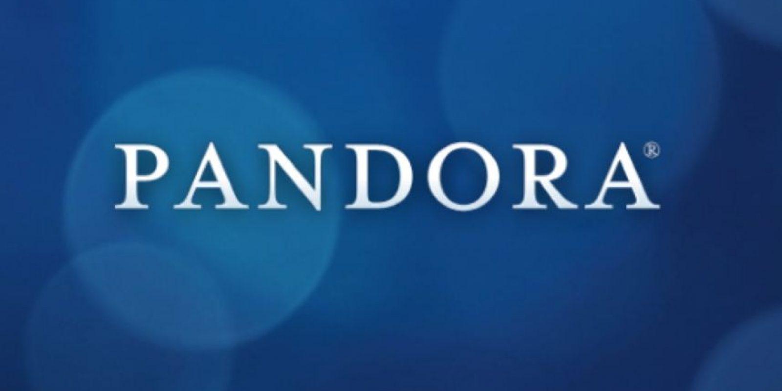 Pandora solamente está disponible en tres países. Foto:Pandora