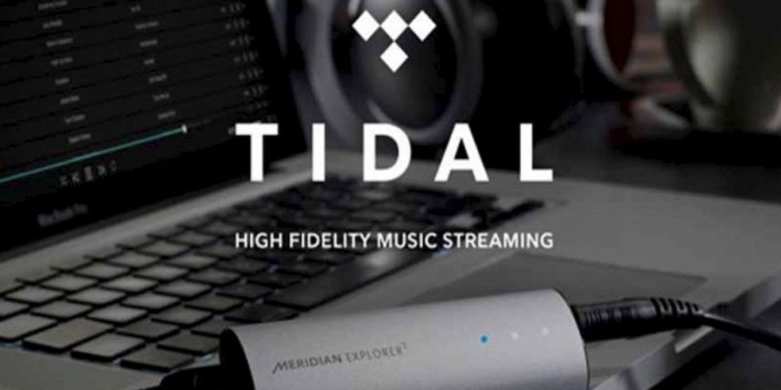 Tidal, según indican, ofrece la mayor calidad de audio y mejor remuneración a los artistas. Foto:Tidal