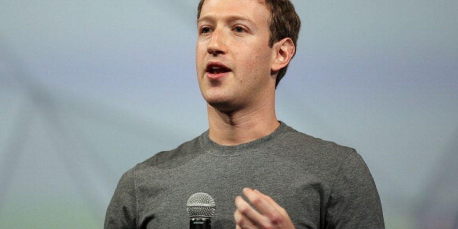 El estadounidense Mark Zuckerberg, de 31 años de edad, fundó Facebook en 2004, la red social más popular de la actualidad con más de mil 440 millones de usuarios activos al mes en todo el mundo. Foto:Getty Images