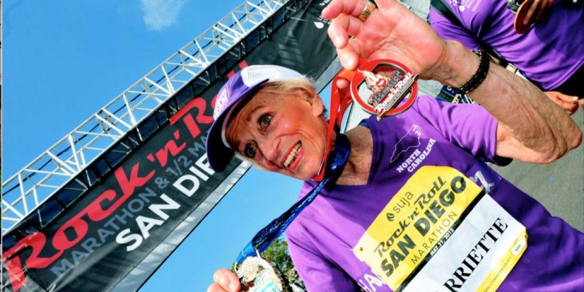 VIDEO. Abuela de 92 años logró lo que muchos jóvenes no se animan a hacer