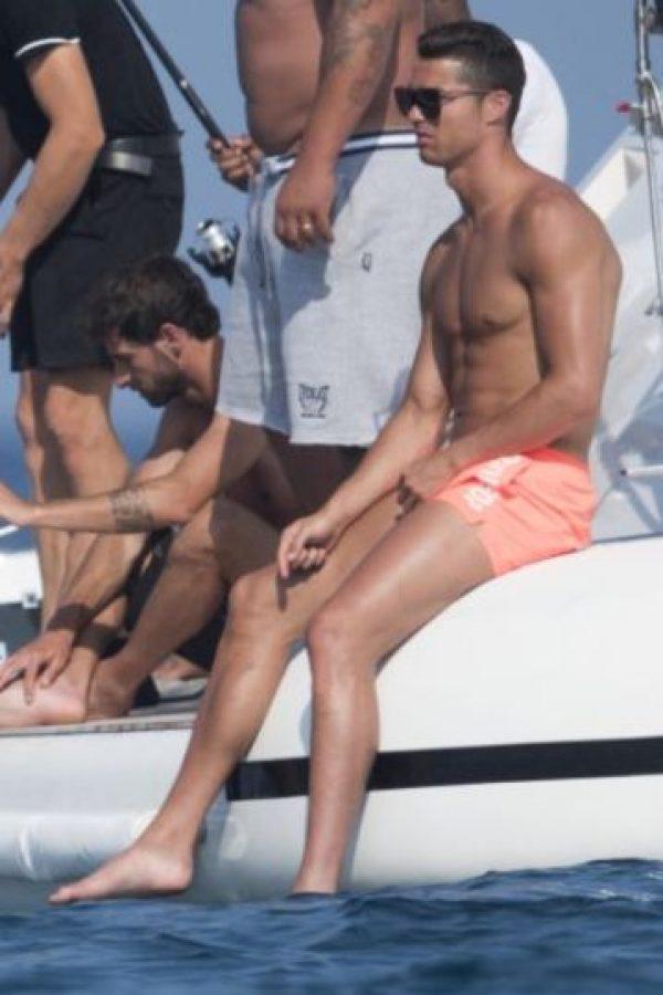 El luso se encuentra de vacaciones en Saint Tropez, Francia Foto:Grosby
