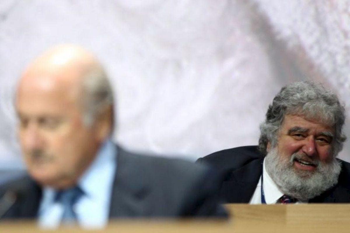 Las declaraciones salen al aire un día después de que Joseph Blatter renunciara a la presidencia de la FIFA Foto:Getty Images