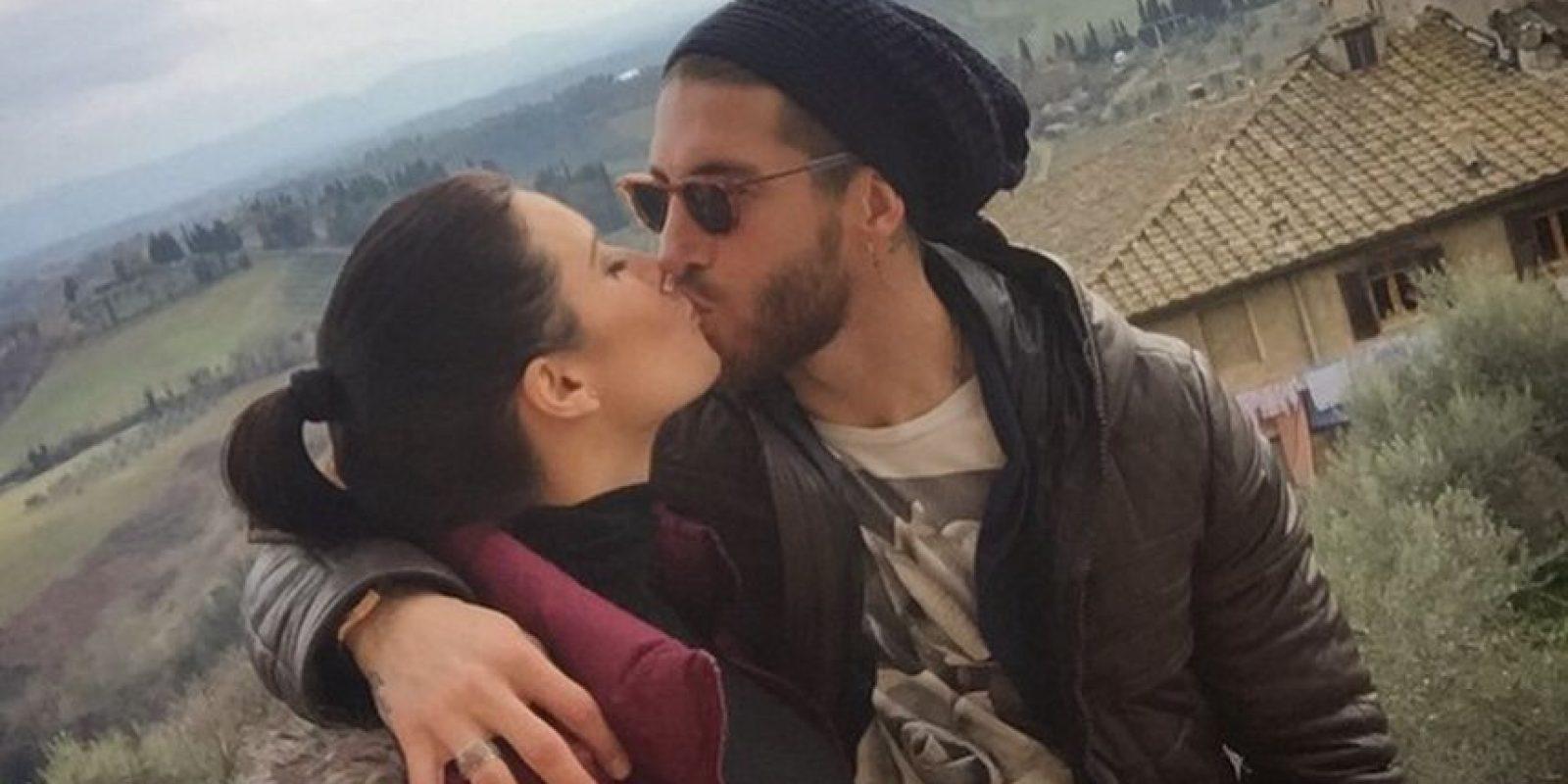 Desde 2012 mantiene una relación con Sergio Ramos Foto:Vía: twitter.com/PilarRubio_