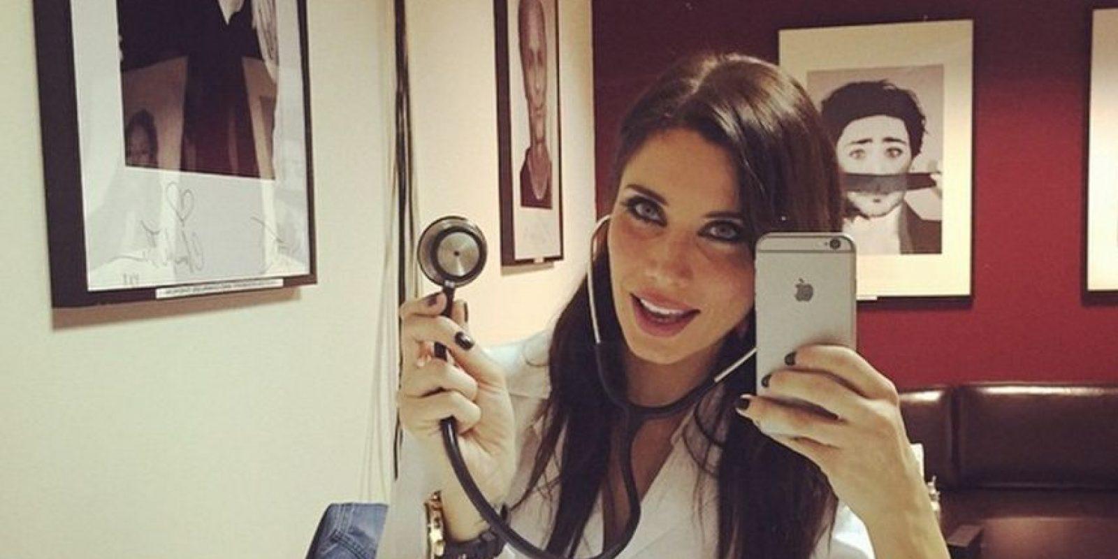Miren las mejores imágenes de sus redes sociales. Foto:Vía: twitter.com/PilarRubio_