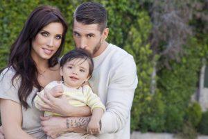 El 6 de mayo del año pasado dio a luz a su primer hijo Foto:Vía: twitter.com/PilarRubio_
