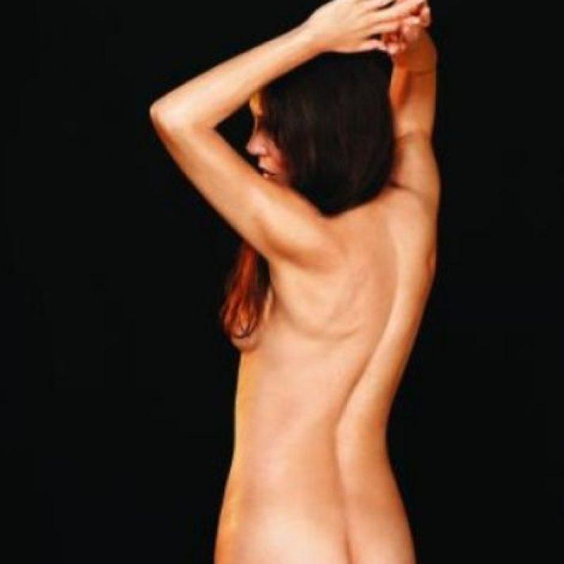 """La hija del expresidente Ronald Reagan posó desnuda a los 58 años para la revista """"More"""". Foto:More.com"""
