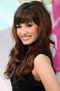 """La cantante en 2008, cuando saltó a la fama con la película """"Camp Rock"""". Foto:Getty Images"""