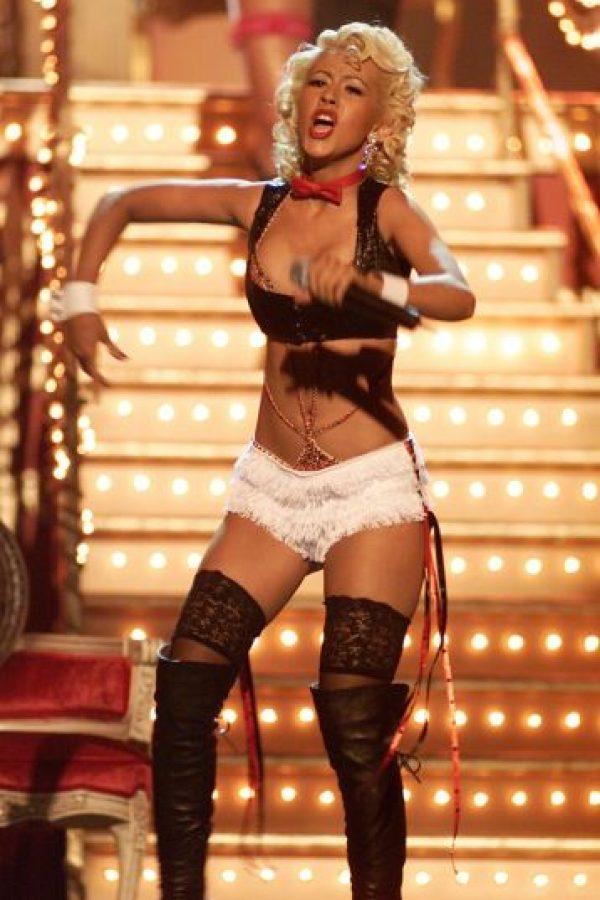Así lucía la cantante en 2002 Foto:Getty Images