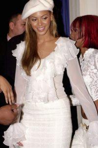 Así lucía la cantane en 2001, cuando formaba parte de la agrupación Destiny's Child Foto:Getty Images
