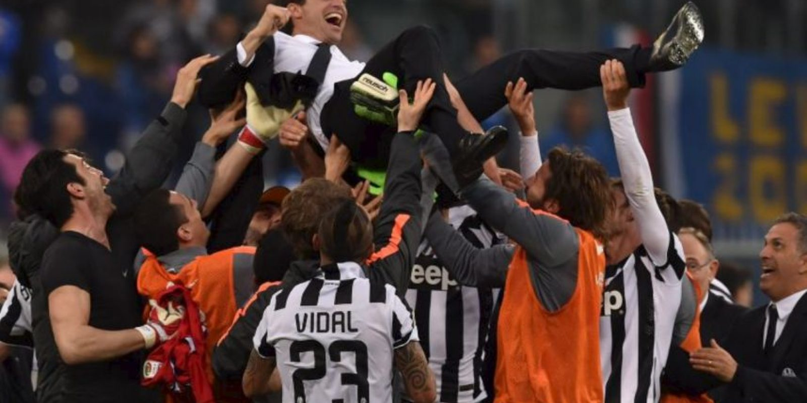 "Massimiliano Allegri es el técnico de la ""Vecchia Signora"" Foto:Getty Images"