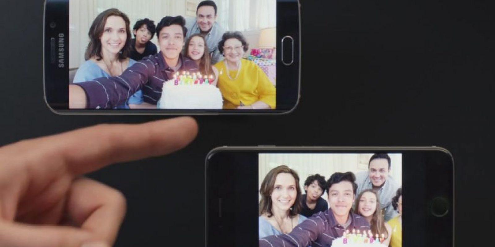 En las fotos también hay diferencias. Foto:Samsung
