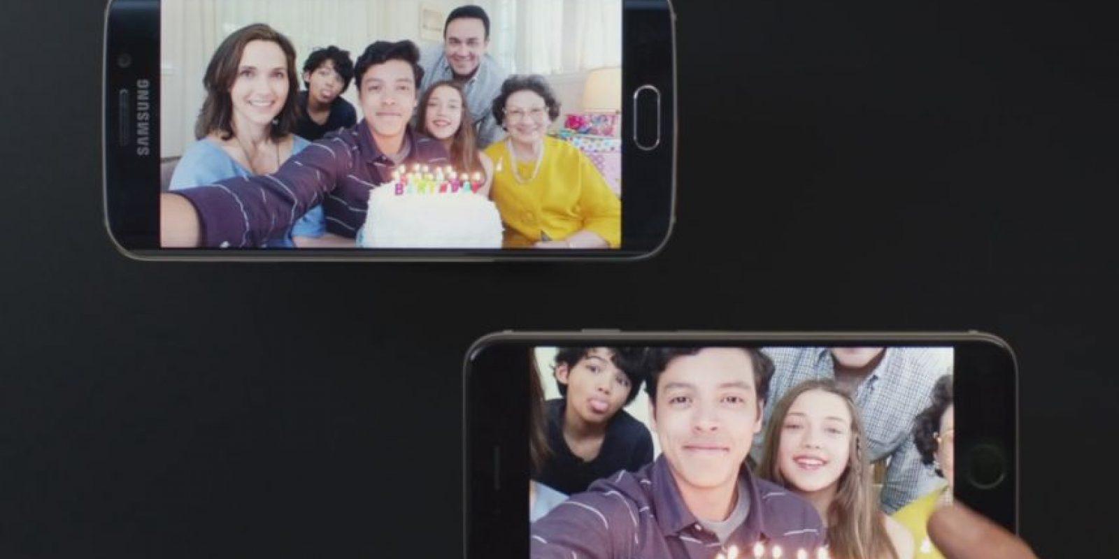 Samsung asegura que puede ocupar todo el espacio de su pantalla. Foto:Samsung