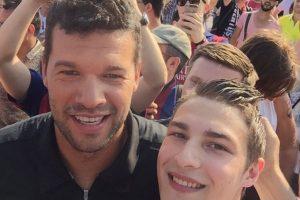 """Los fieles aficionados de Barça y la """"Vecchia Signora"""" arriban al lugar donde se disputará el partido más importante de la temporada europea Foto:Vía twitter.com/FCBarcelona_es"""