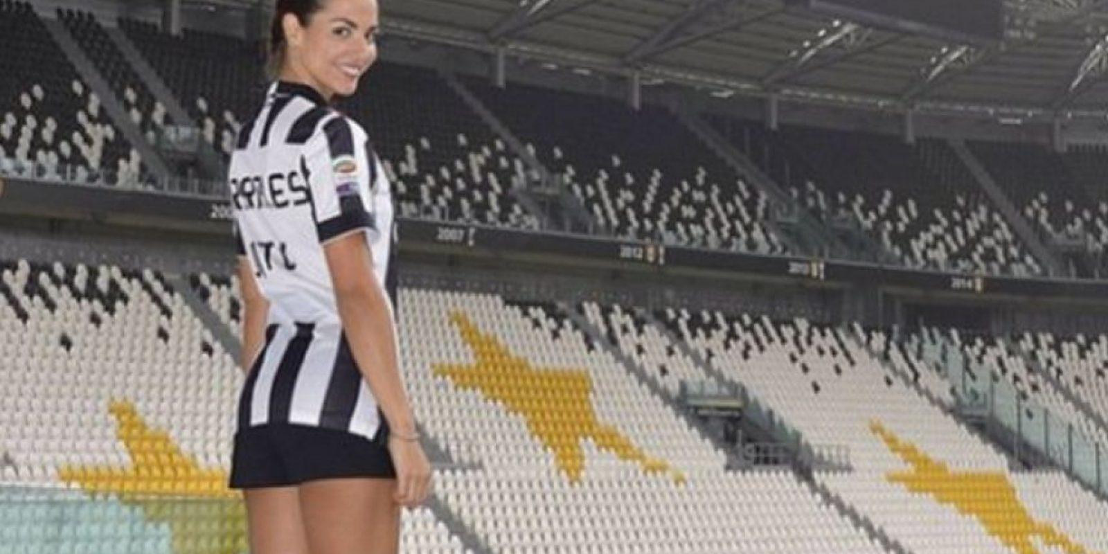 La modelo española es la imagen oficial de la televisión de la Juventus Foto:Juventus