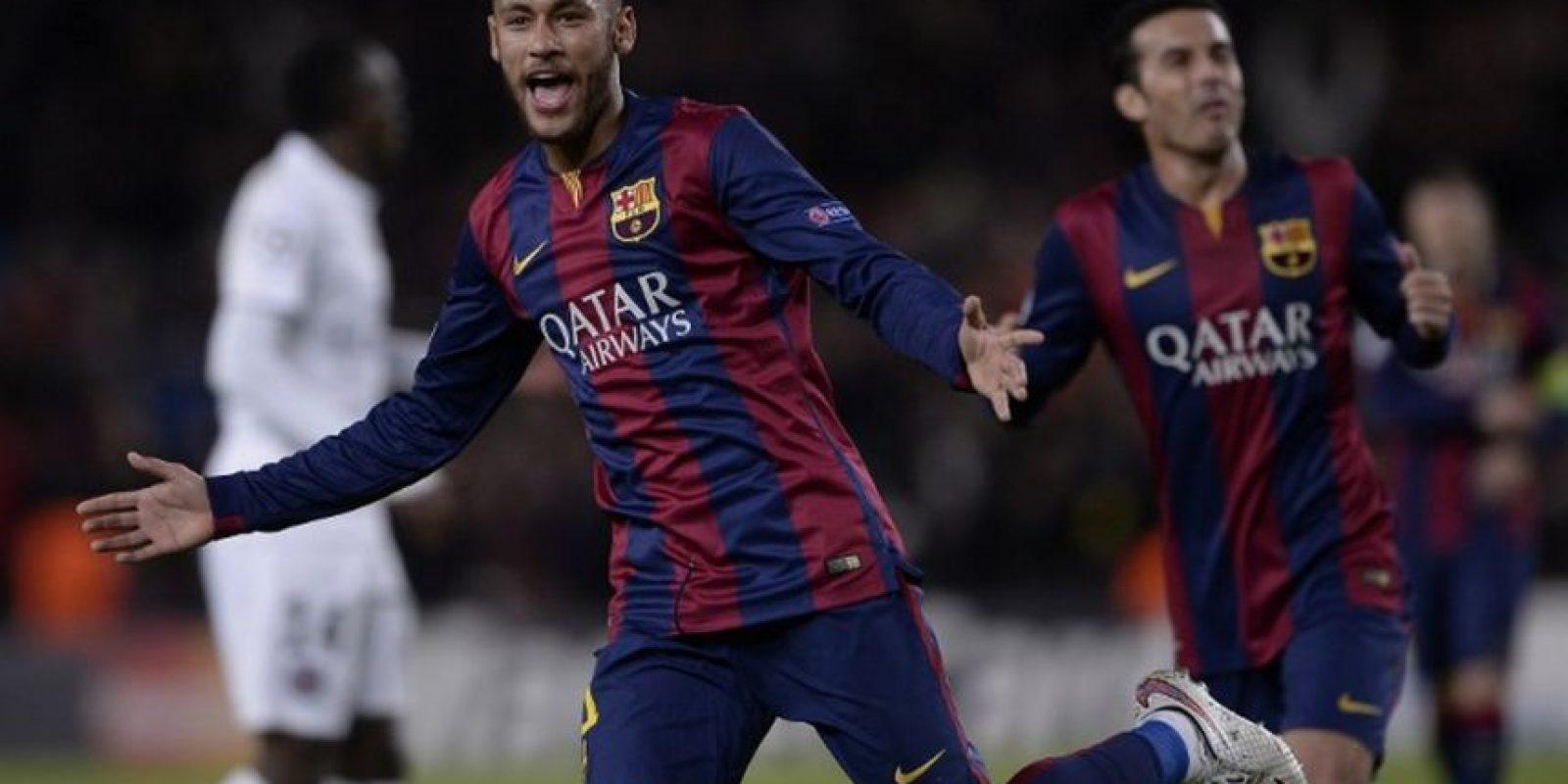10 de diciembre de 2014. En el Camp Nou, Barça tenía la misión de obtener la victoria para quedarse con el liderato del grupo F. En un duro partido, Zlatan abrió la cuenta a favor del PSG, pero rápidamente el tridente conformado por Messi, Neymar y Suárez decretaron el 3-1 final. Foto:AFP