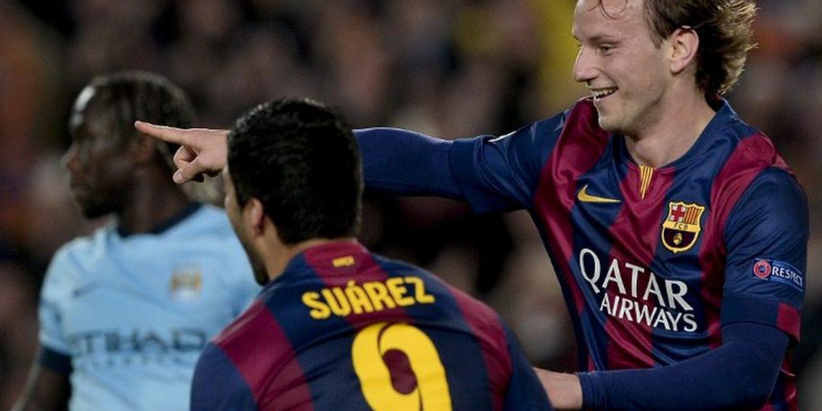 18 de marzo de 2015. Con un Messi inspirado, Barcelona selló la clasificación a cuartos de final con un triunfo por la cuenta mínima (gol de Rakitic) sobre el City del Ingeniero. El meta Ter Stegen también brilló al contener un penal a Sergio Agüero en el segundo tiempo Foto:AFP