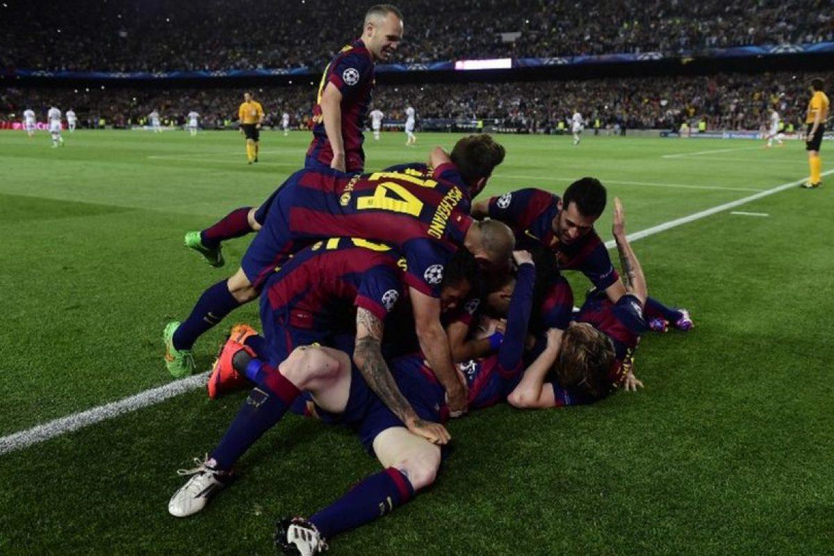 6 de mayo de 2015. En la semifinal de ida ante Bayern Múnich se fueron con una ventaja de 3-0 Foto:AFP