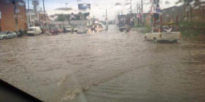 EN IMÁGENES. Fuertes lluvias provocaron inundaciones en varios sectores