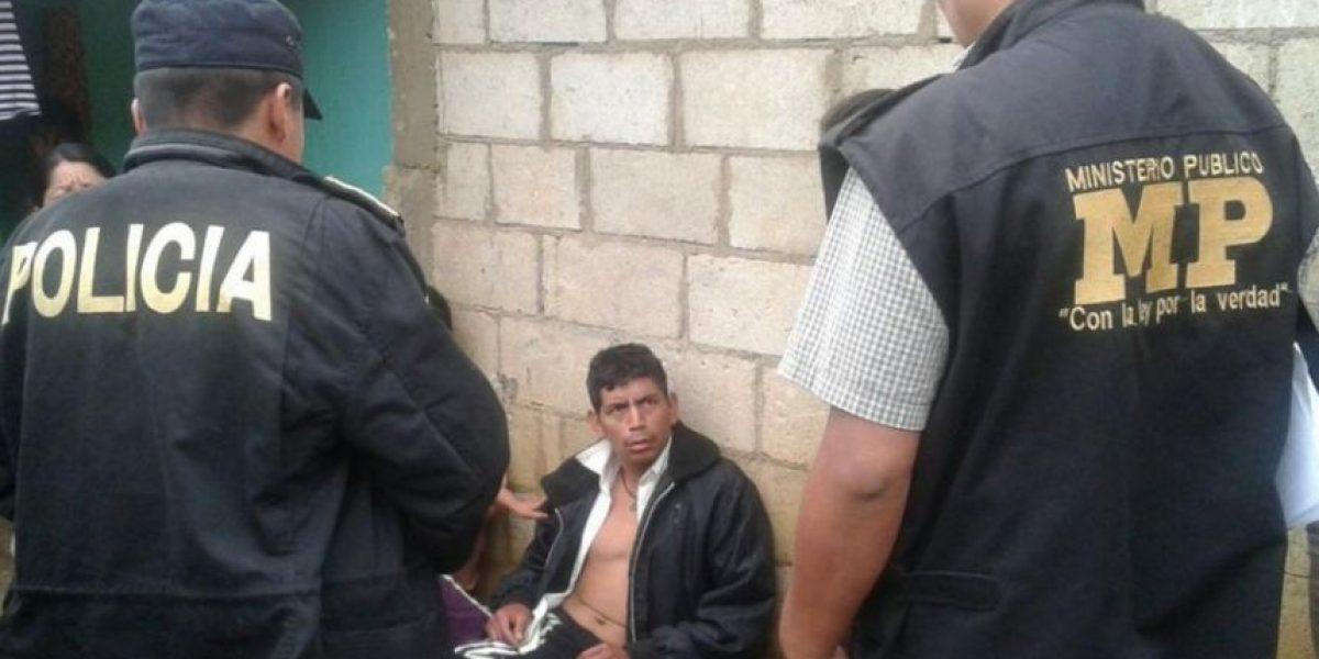 Capturan a once personas en Chimaltenango por violación sexual