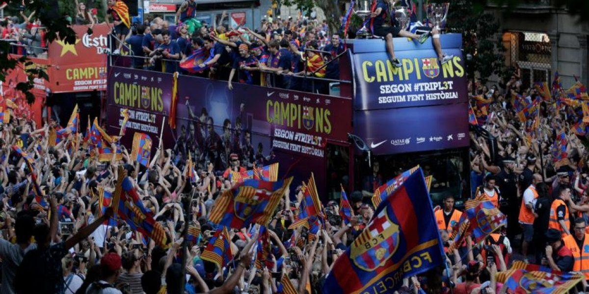 VIDEO. Espectacular recibimiento de los campeones de Europa
