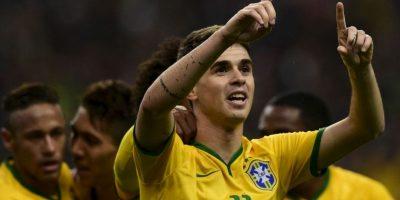 """Óscar (Brasil). Una conmoción cerebral impidió que fuera parte de la nómina del """"Scratch"""" Foto:Getty Images"""