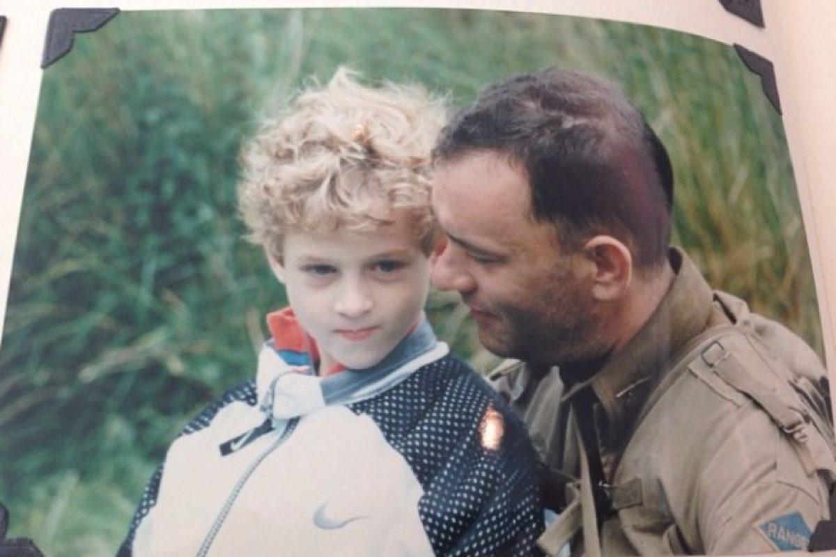 Chester es el tercer hijo de Tom Hanks. Su madre es la actriz Rita Wilson. Foto:vía instagram.com/chethanx